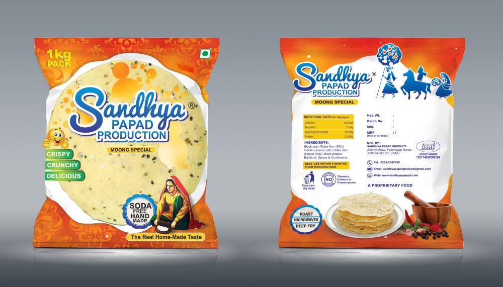 Sandhya papad Mockup01