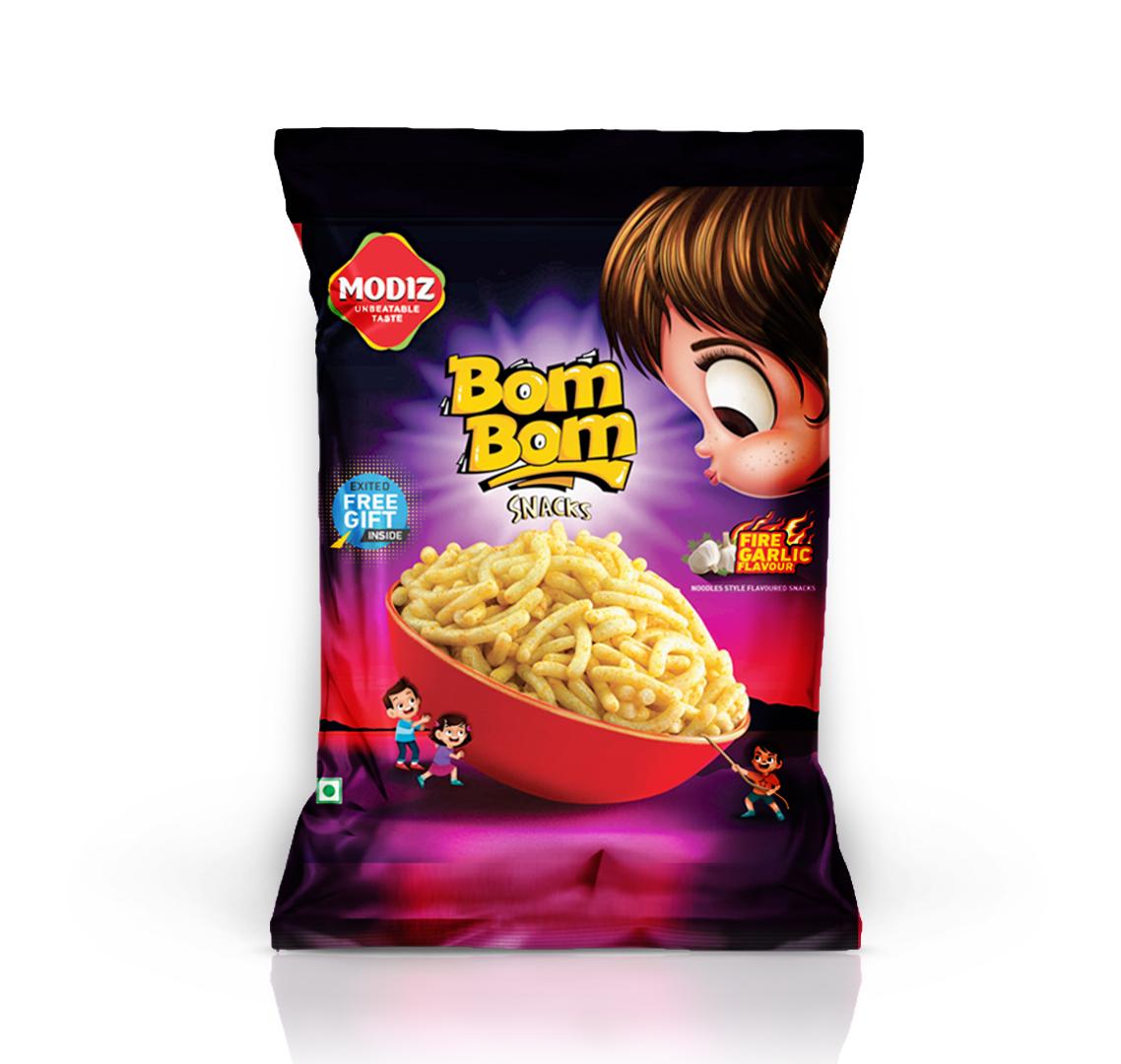 bom bom 3d with new logo